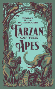 I'm traumatized rn because this Tarzan is wayy more savage than the Disney one. I'm also traumatized because this one weighs in at almost 800 pages. Wow.