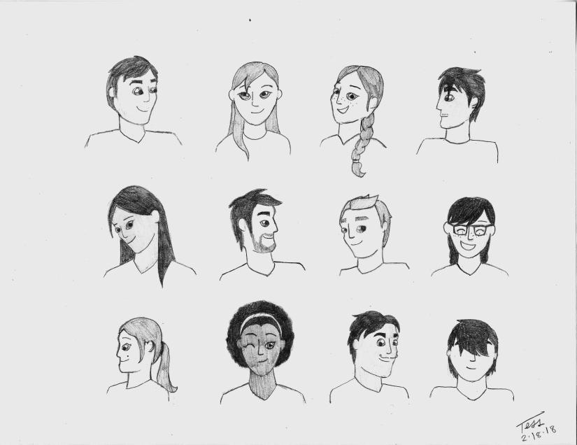 Twelve Faces